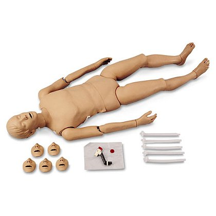 Simulaids Full Body CPR/Trauma Manikin