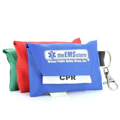 TheEMSstore Exclusive CPR Shield with Key-ring