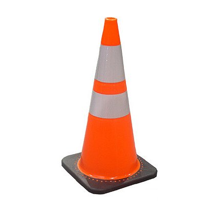 "JBC Safety Plastics Revolution Wide Body Traffic Cone, Orange, 28"" and 36"""