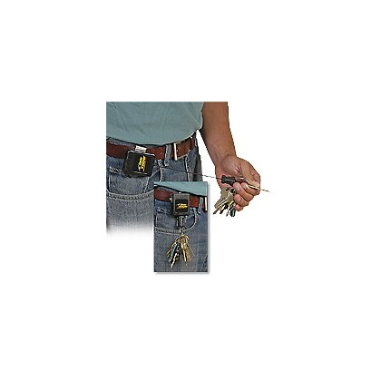 Gear Keeper: Key Retractor 3-12oz Force with Rotating Belt Clip Mount