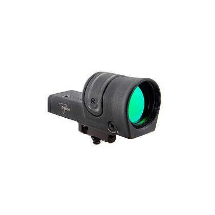 Trijicon: 42mm Reflex Sight 6.5 MOA Amber Dot Reticle with carry handle mount