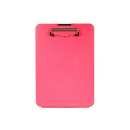 Saunders SlimMate Clipboard Storage Case, Pink