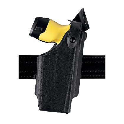 SAFARILAND Model 6520 SLS EDW Level II Retention Holster for TASER X26P, Adjustable Belt Clip