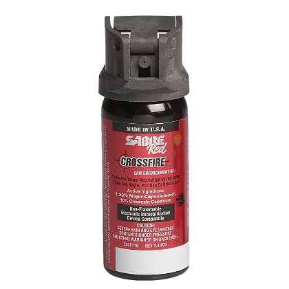 Sabre Red Sabre Crossfire, Red Level III H2O Aerosol Irritant Projector, Stream