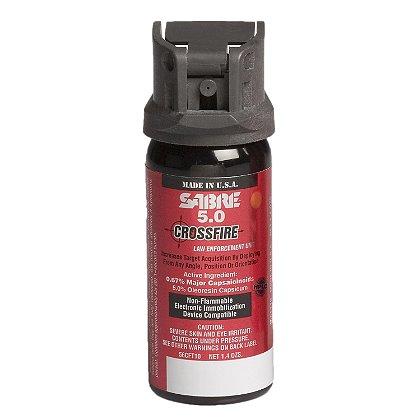 Sabre: Sabre 5.0 Crossfire, Level II H2O Aerosol Irritant Projector, Stream, MK-3 / MK-4