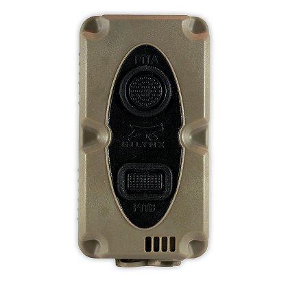 Silynx Micro Wireless PTT (MWPTT) Includes Picatinny Rail Adaptor
