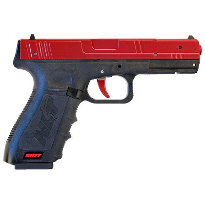 Next Level SIRT PRO Training Pistol with Red Metal Slide, Green/Red Lasers