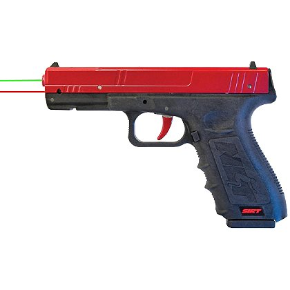 Next Level: SIRT Performer Training Gun RG with Red Polymer Slide, Green/Red Lasers