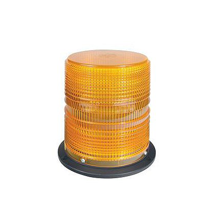 SoundOff Signal: 4100 Series Class 1 Strobe Beacon with Amber Dome, Permanent or Magnetic Mount