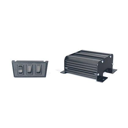 SoundOff: 200 Series Compact Siren, 100 Watt with Remote Amplifier