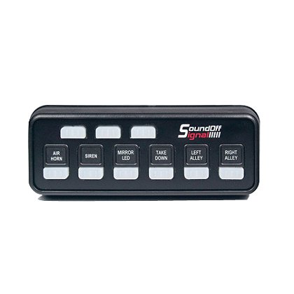 SoundOff Signal: IntelliSwitch993 with Power Pursuit Switch Box, 12 Amp