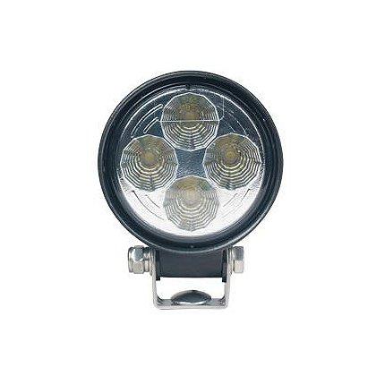"SoundOff Signal: LED Work Light, Flood Pattern, 500 Lumen, 3.3"" Round"