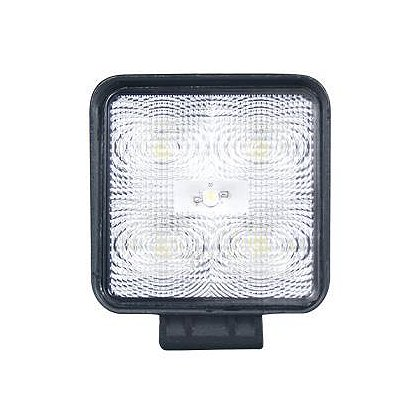 SoundOff Signal LED Work Light, Flood Pattern, 4.3� Square, 500 Lumen