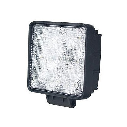 "SoundOff Signal LED Work Light, Flood Pattern, 4.6"" Square, 900 Lumen"