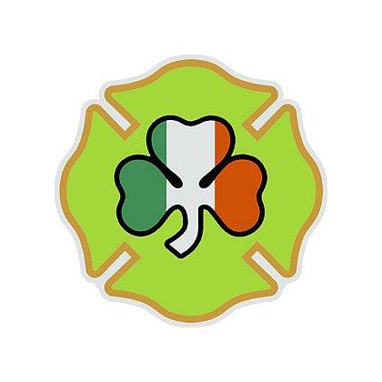 TheFireStore Maltese Cross with Irish Shamrock