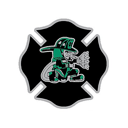 Decal TheFireStore Exclusive Reflective Fighting Irish with Hose, Maltese Cross, 2