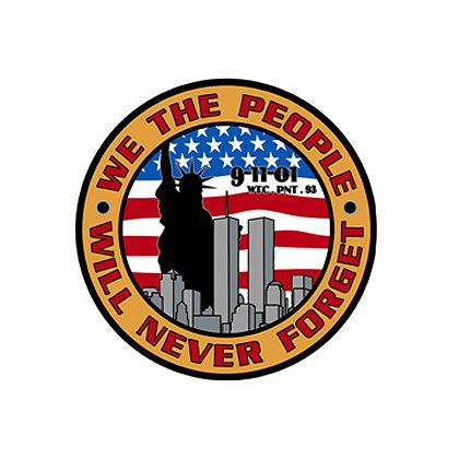 TheFireStore: Challenge Coin Style, We The People Will Never Forget, 10th Anniversary
