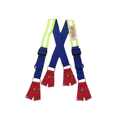 Honeywell Morning Pride Dyna-Fit Suspenders with Snap Attachments & Quick Adjust
