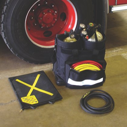 Groves SCBA, Cylinder, Rescue Bag