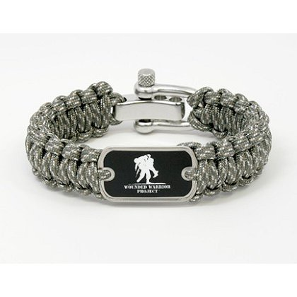 Survival Straps ACU Camo with Wounded Warrior Project Tag