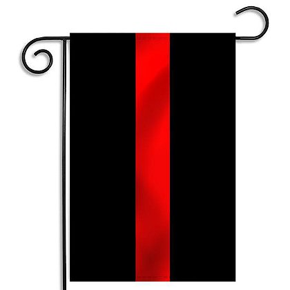 Thin Red Line Garden Flag 12.5