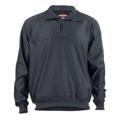 TRU-SPEC: Grid Fleece Zip Thru 1/4 Zip Pullover