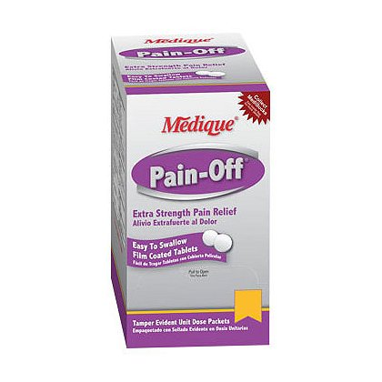 Medique: Pain Off Extra Strength Pain Relief Tablets