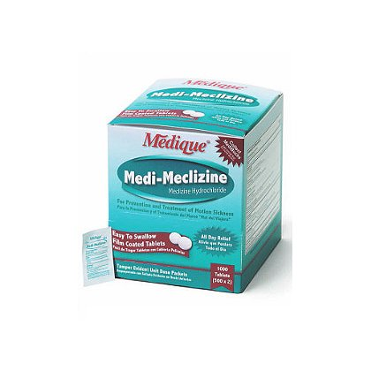 Medique:  Meclizine, Relief Of Nausea & Vomiting