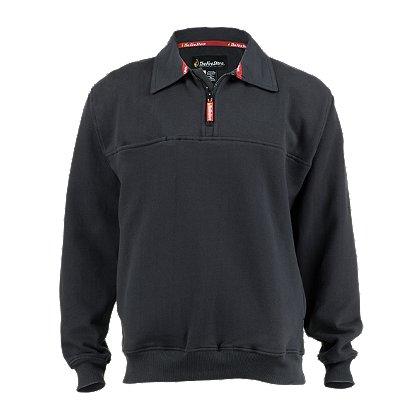 TheFireStore: Exclusive Cotton Twill Collared Job Shirt, Dark Navy