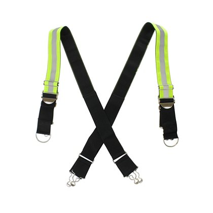TheFireStore Signature Series Reflective X-Back Suspenders
