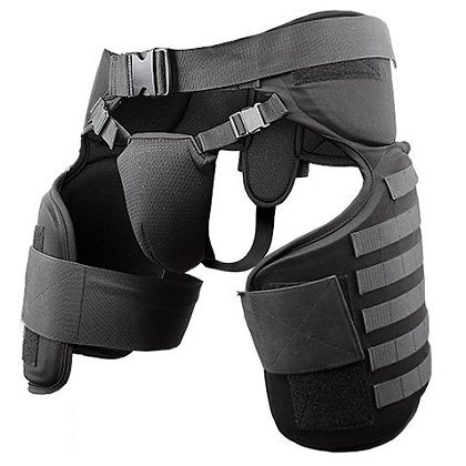Damascus Imperial Thigh/Groin Guards w/Molle System