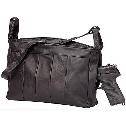 Triple K: Leather Pistol Purse