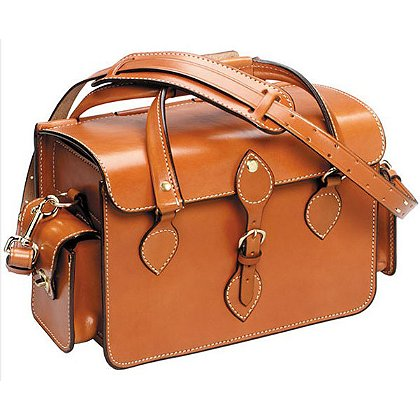 Triple K: European Style Leather Shooting Bag