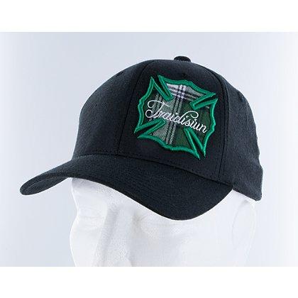 Black Helmet: Traidisiún St. Patrick's Flex Fit Hat, Black