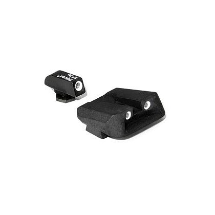 Trijicon Bright & Tough 3 Dot Front & Novak Rear Sights for Glock® Pistols