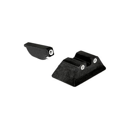 Trijicon: Bright & Tough 3 Dot Sight Set, fits Ruger P85, P85 Mark II and P89