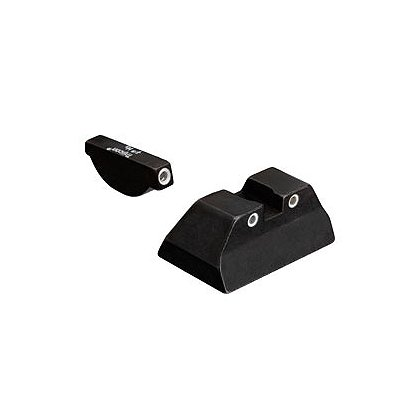 Trijicon: Bright & Tough 3 Dot Sight Set, Fits Ruger models P90, P91, P93, P93 Compact, P95 and P97