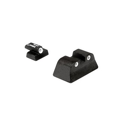 Trijicon: Bright & Tough S&W 3 Dot Green Front & Green Fixed Rear Night Sights