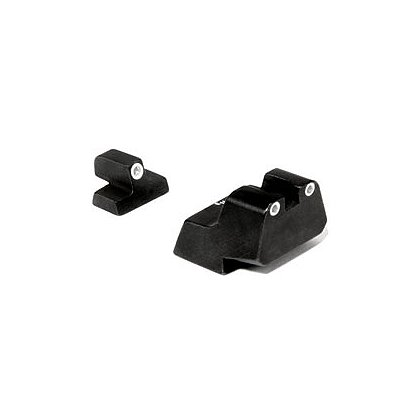 Trijicon Bright & Tough S&W 3 Dot Sight Set w/Novak style rear sight
