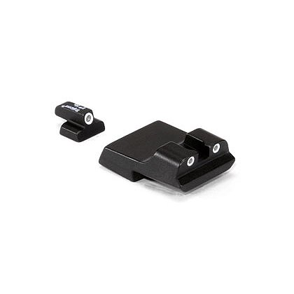 Trijicon: Bright & Tough 3 Dot Night Sight Set fits S&W Chief's Special 9mm