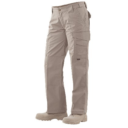 Tru-Spec 24-7 Ladies Tactical Pants Poly/Cotton Rip-Stop, Khaki