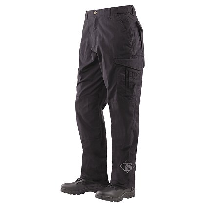 Tru-Spec Men's 24-7 Series EMS Pants, Black, Unhemmed
