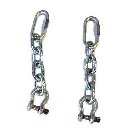 TerraTek Attachment Chains, Sold as a Pair