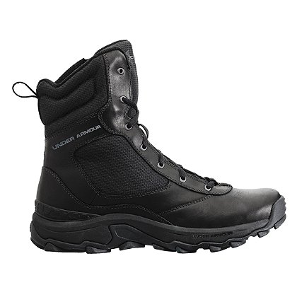 Under Armour: TAC Tactical Side Zip Boot, Black