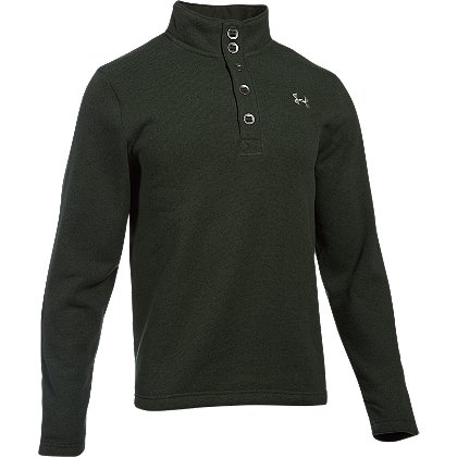Under Armour: Men's Specialist 1/4 Button Storm Sweater