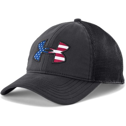 Under Armour Big Flag Logo Mesh Cap