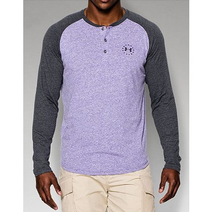 Under Armour: Men's Freedom Long Sleeve Henley