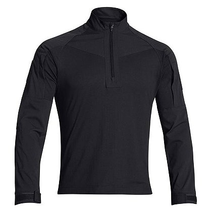 Under Armour 100% Polyester, Water-Resistant Tac 1/4 zip, Black, Small