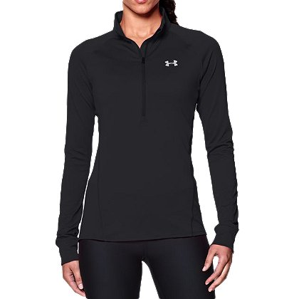 Under Armour: Women's HeatGear Tech 1/2 Zip Tactical Shirt