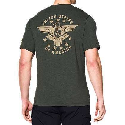Under Armour: Freedom Eagle Short Sleeve T-Shirt